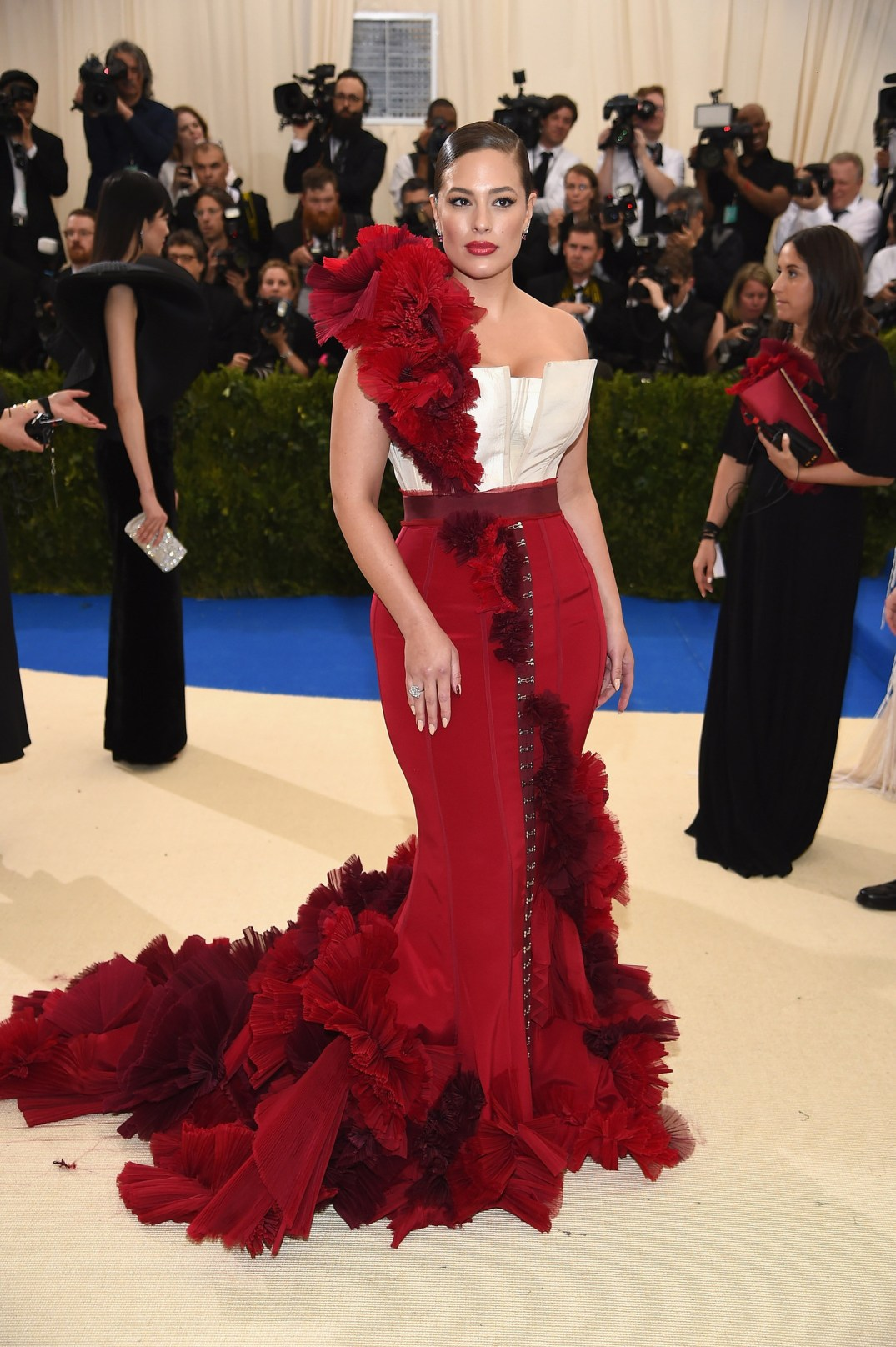 Ashley Graham at Met Gala in HM